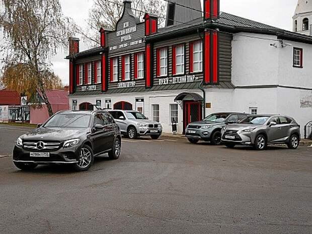 Mercedes-Benz GLC против одноклассников: и у богатых всё непросто (ВИДЕО)
