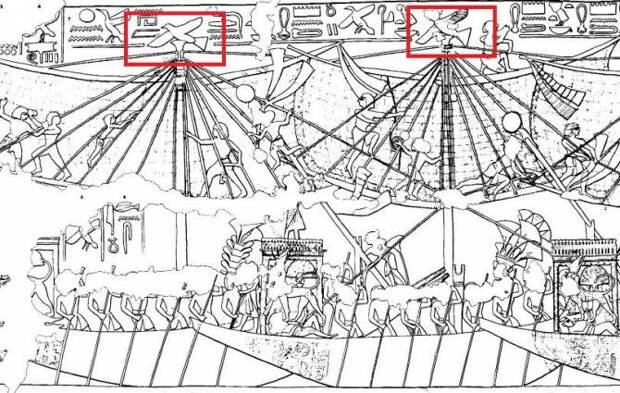 Деревянная египетская птичка: Игрушка или модель самолета?