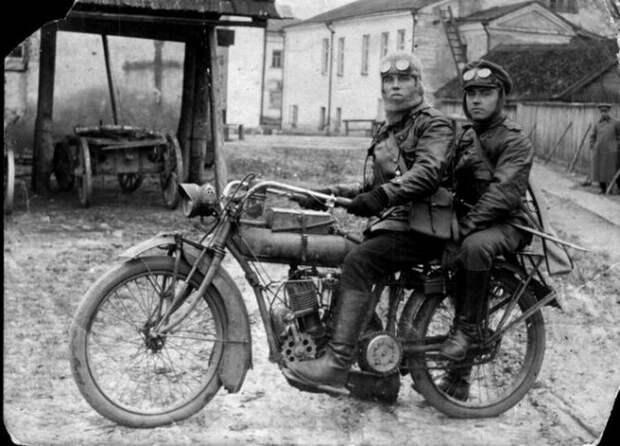 Мотоциклы в дореволюционной российской армии