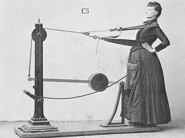 Странные и пугающие тренажеры Викторианской эпохи