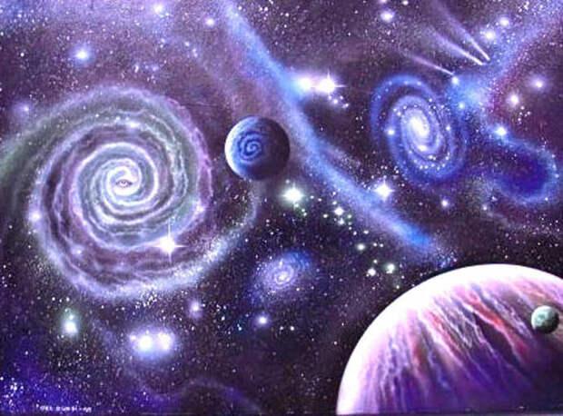 9. Множественные вселенные космос, ученные
