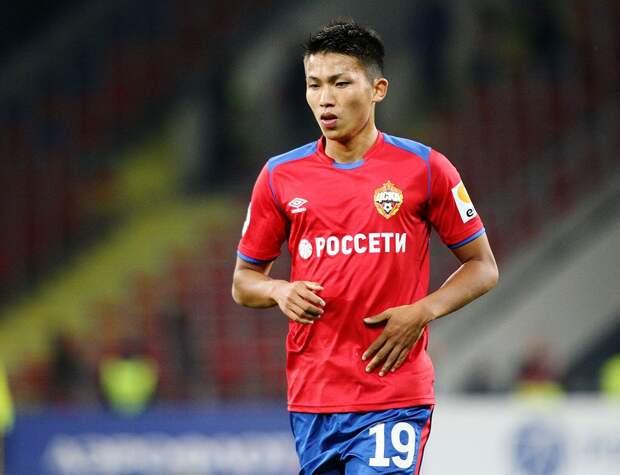 ЦСКА продал Нисимуру в японский клуб «Вегалта Сэндай»