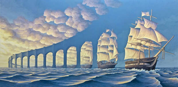Психоделические оптические иллюзии, которые собьют столку любого