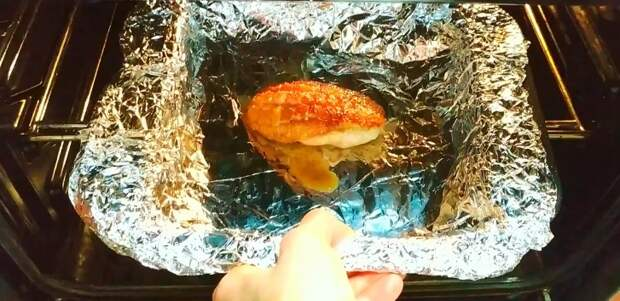 Попробовала в гостях «отменное» филе, и сделала дома сразу килограмм (муж сказал, что вкуснее филе он не ел)