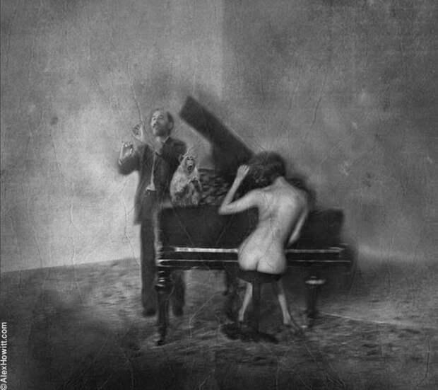 Классическое черно-белое ню от британского фотографа
