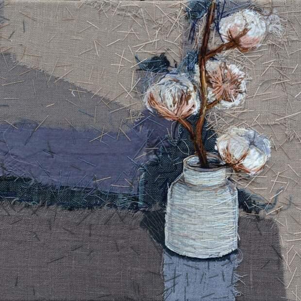 Текстильное панно