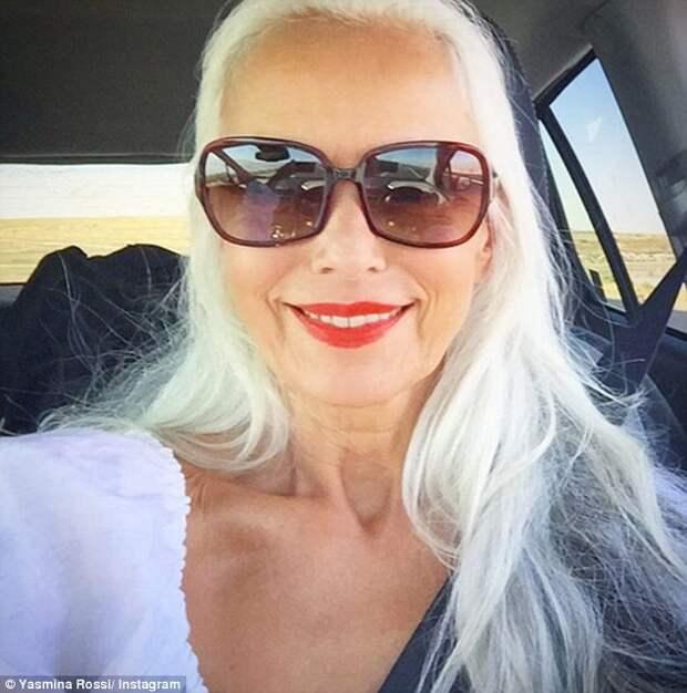 Эта 63-летняя женщина считается ″самой красивой бабушкой в мире″. Как у нее получилось?