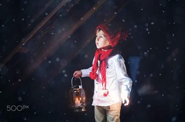 Зима — время по-детски верить в чудеса