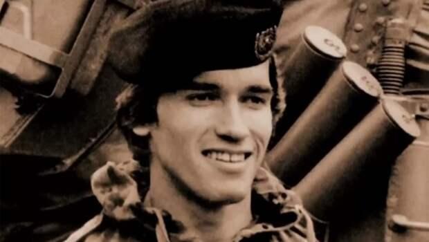 Железный Арни свой парень! Он служил в армии, как и все нормальные мужчины.
