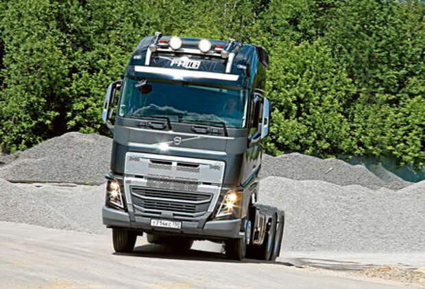 Вольному – Вольво: седельный тягач Volvo FH16