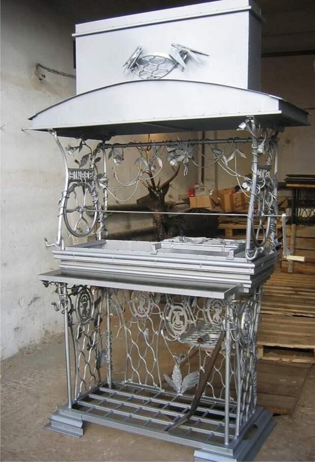 Волшебное превращение старой швейной машинки (трафик)
