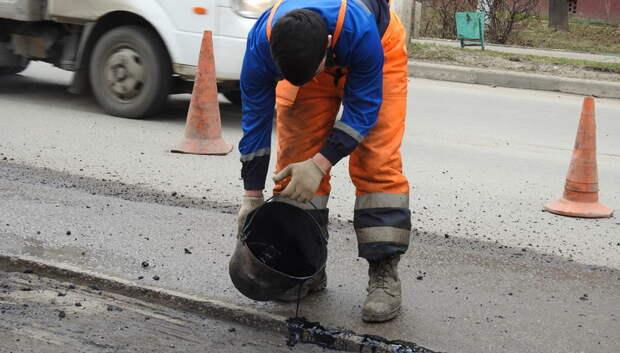 Более 2,4 тыс ям заделали на дорогах Подольска в 2019 году