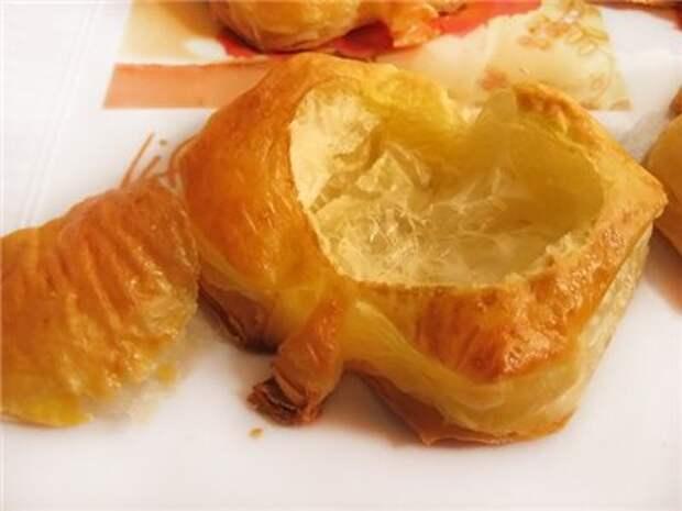 Слойки «Золотое яблочко»