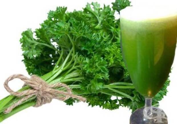 Сок корня петрушки: рецепты при различных заболеваниях