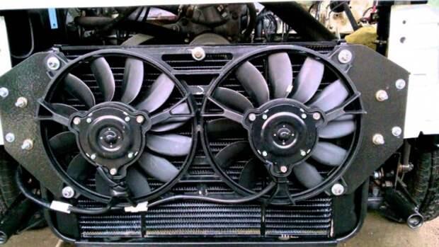 Вентилятор в системе охлаждения авто