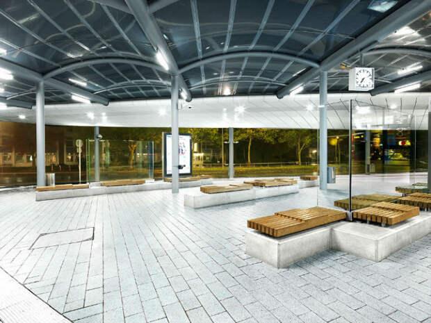 Самые крутые вмире автобусные остановки, где захочется ждать автобус вечно