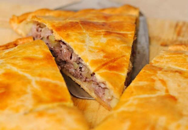 Мясной пирог с картошкой: простой рецепт с фаршем