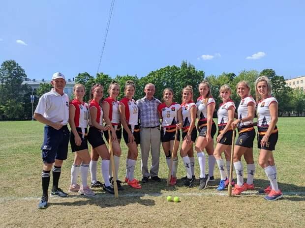 Женская команда Удмуртии по лапте стала чемпионом России