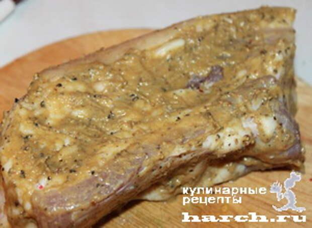 salo s gorchicey v folge 4 Сало с горчицей в фольге