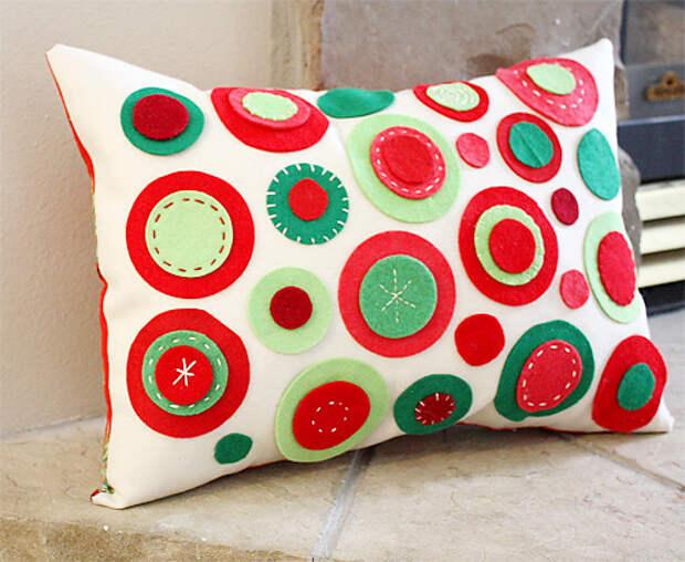 Креативные подушки своими руками.