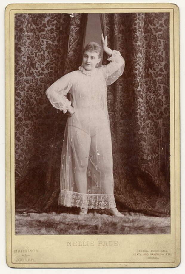 Идеальная женщина 100 лет назад: фотографии