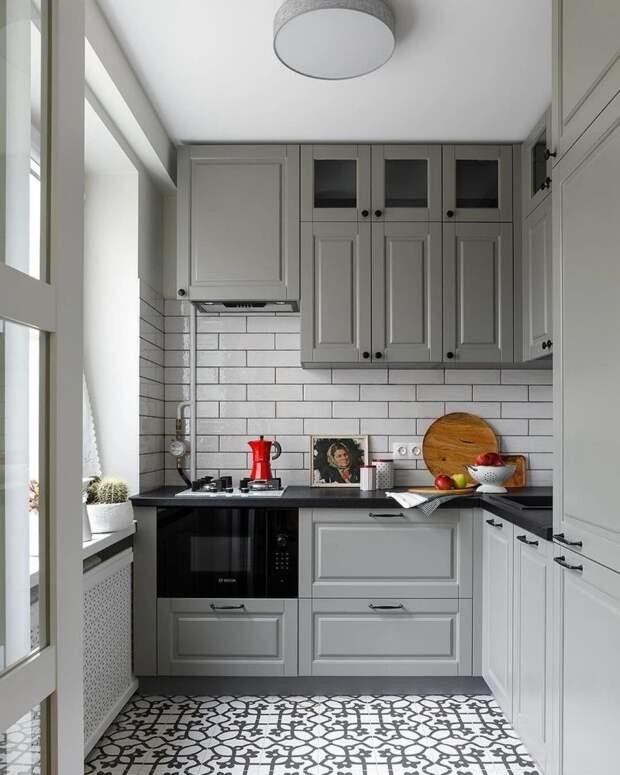 Замечательная хрущёвская кухня: 12 идей стильной и удобной кухни