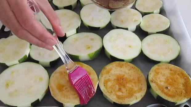 Очень вкусный способ приготовления кабачков. Полноценное блюдо и красивая подача