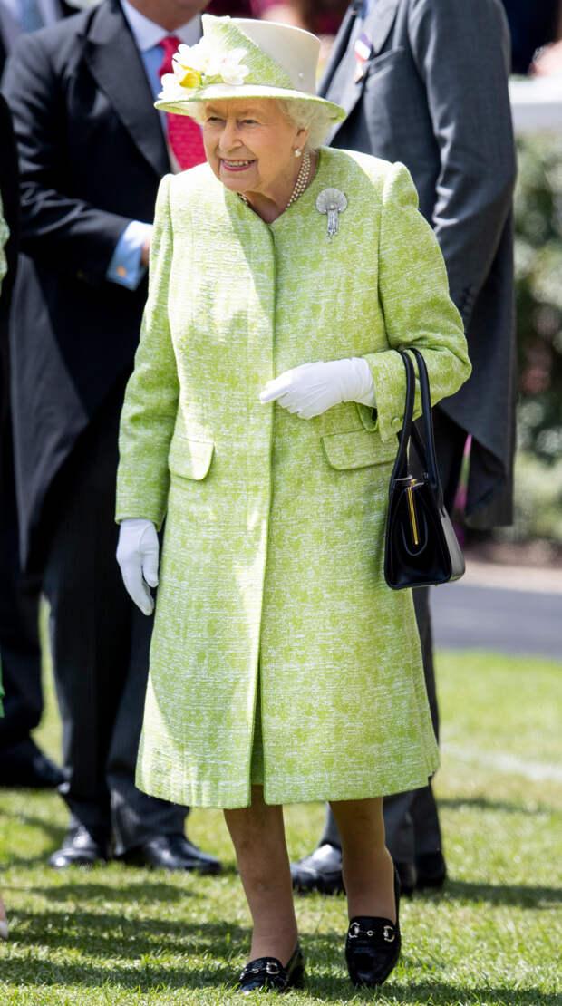 Елизавета II на Royal Ascot, 2019