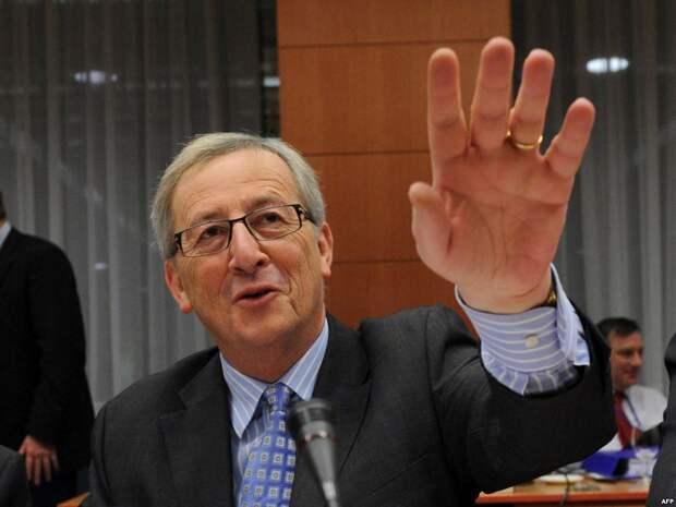Пьяные выходки главы ЕС (видео)