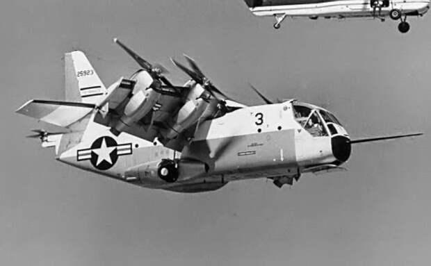 Самолет и вертолет  в одном флаконе.