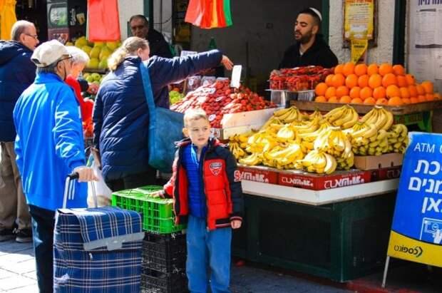 Рынок в Иерусалиме.