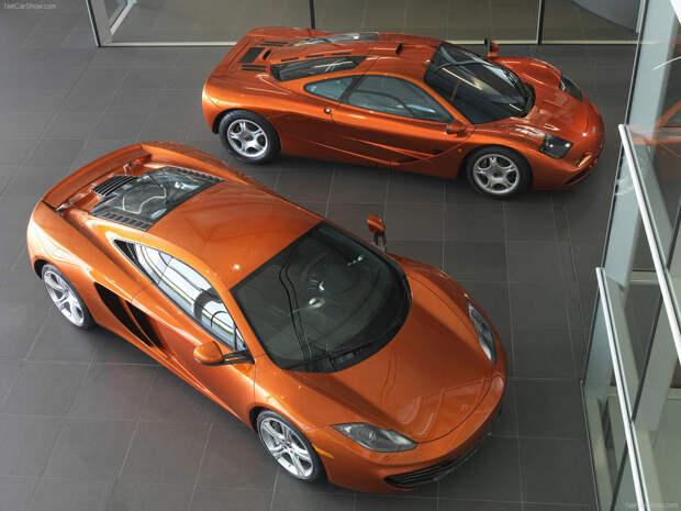 11. McLaren авто, история