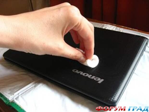 Декупаж для ноутбука: мастер-класс