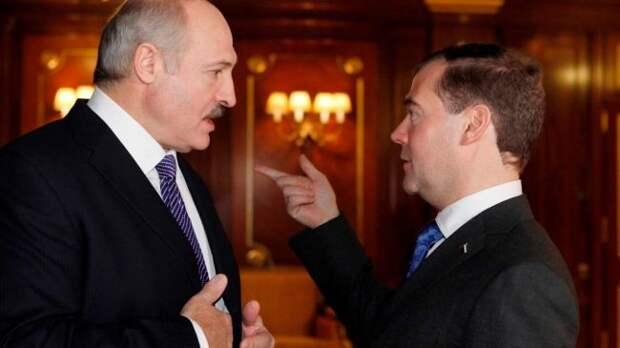 Лукашенко иМедведев обсудили «широкий спектр актуальных вопросов»