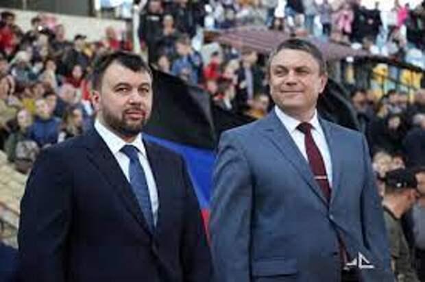 Главы ЛДНР предложили Зеленскому встретиться нафронте ипоговорить «предметно»