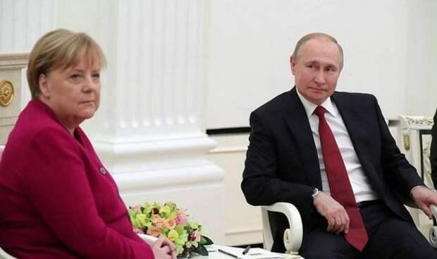 Стало известно о разговорах Путина с Меркель на повышенных тонах