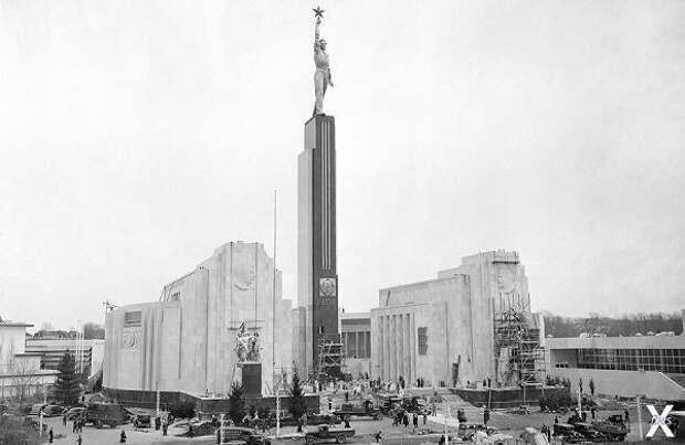 Советский павильон в Нью-Йорке, 1939 г.