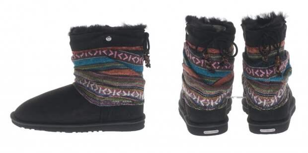 Гобелен: идеи для обновления обуви