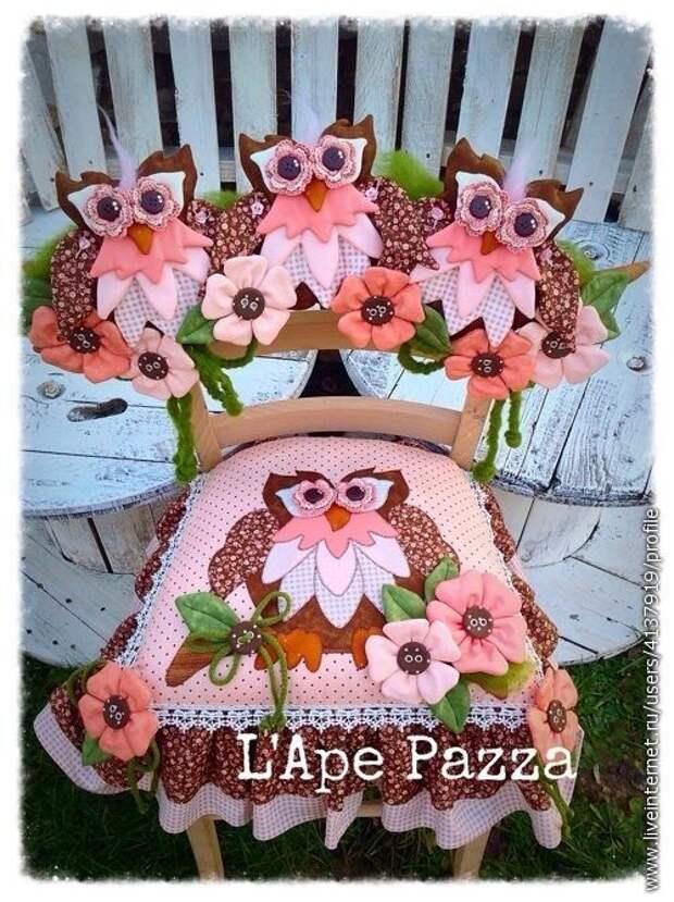Оригинальные, неповторимые чехлы на стулья . Идеи для творческого вдохновения.
