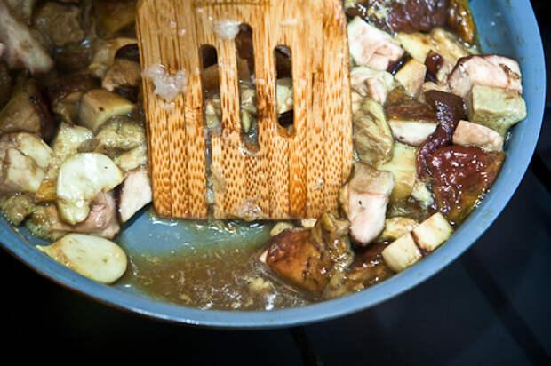 Грибной суп со сливками