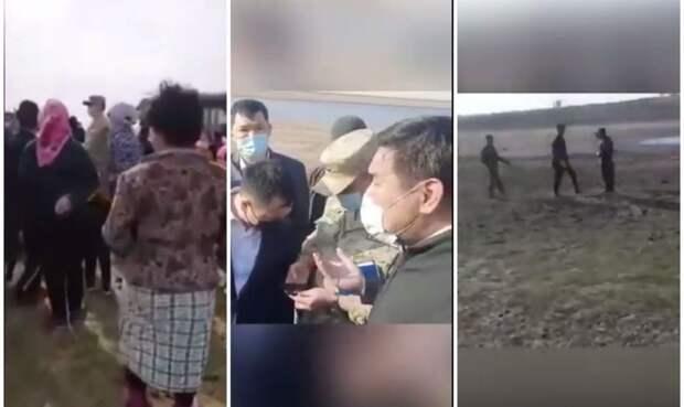 Из-за установки пограничного с РФ ограждения жители Атырауской области остались без воды
