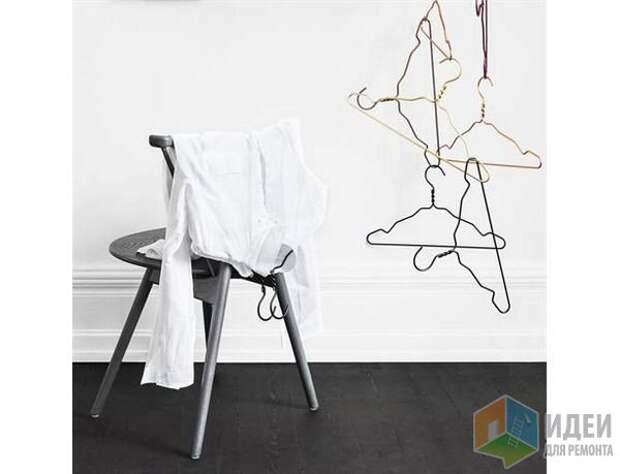 Идеи для хранения вещей дома, вешалки для легких нарядов
