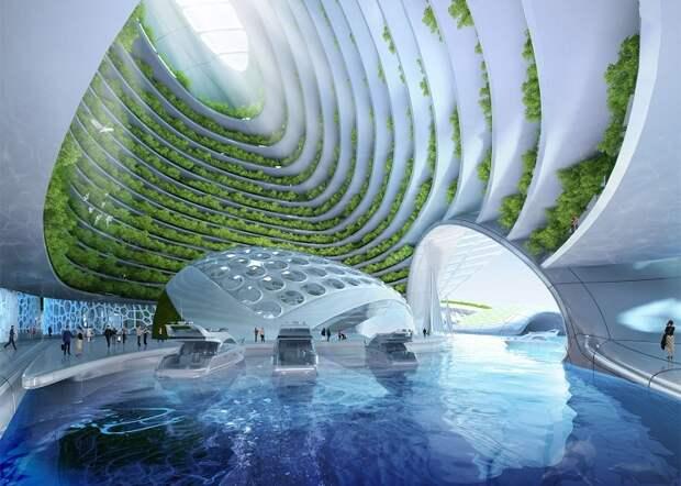 Подводный город на 3D принтере
