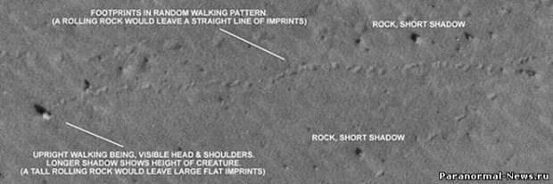 На Марсе снова засняли движущийся камень