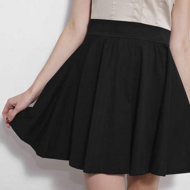 платье из юбки своими руками