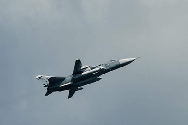 Истребители ВВС Великобритании совершили перехват российского Су-24 вблизи границ Румынии