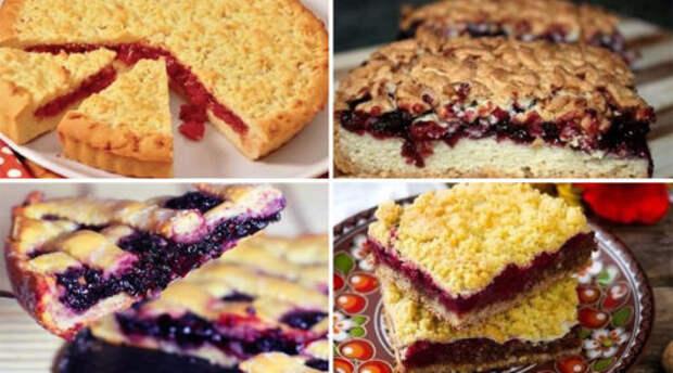 6 рецептов домашних пирогов с вареньем