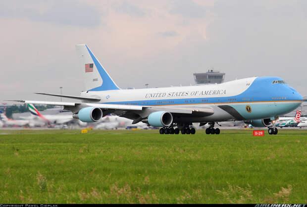 США. Борт номер один, президенты, самолёты