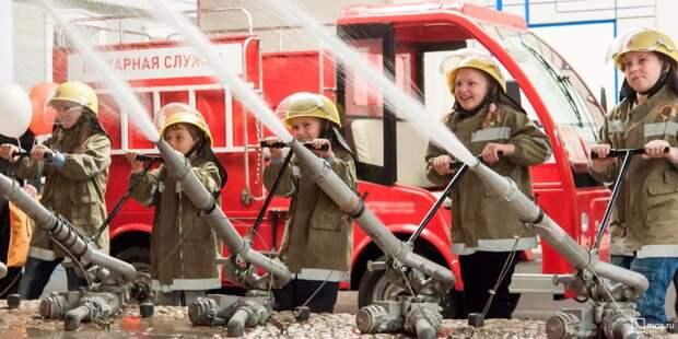 Школу в Алтуфьеве признали одной из самых активных в работе с детьми по направлению безопасности