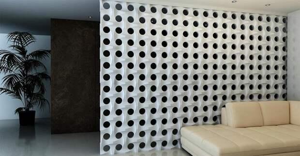 Ровные стены в прошлом: 3D панели или как просто преобразить интерьер